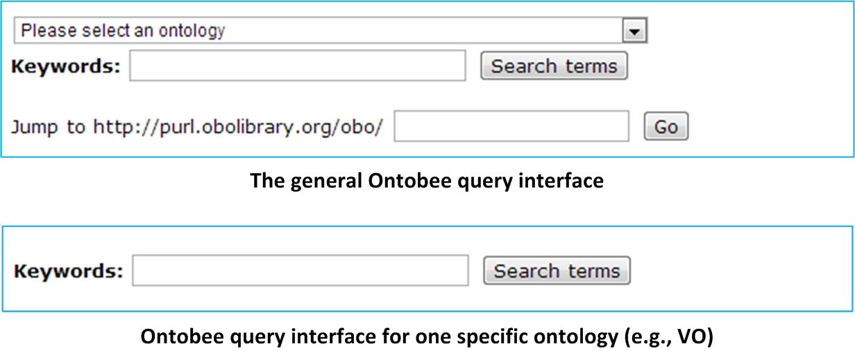 Web query interfaces